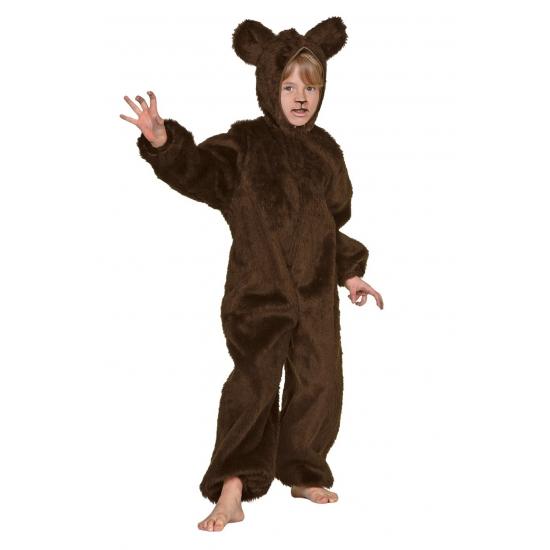 Verkleedkleding Bruin beren pak voor kinderen