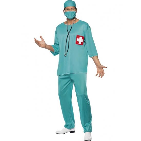 Verkleedkleding Chirurg kostuum voor volwassenen