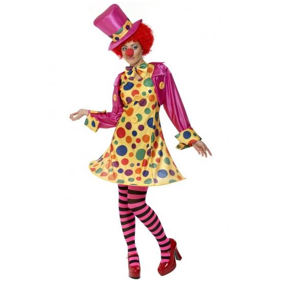 Verkleedkleding Clowns kostuum voor dames