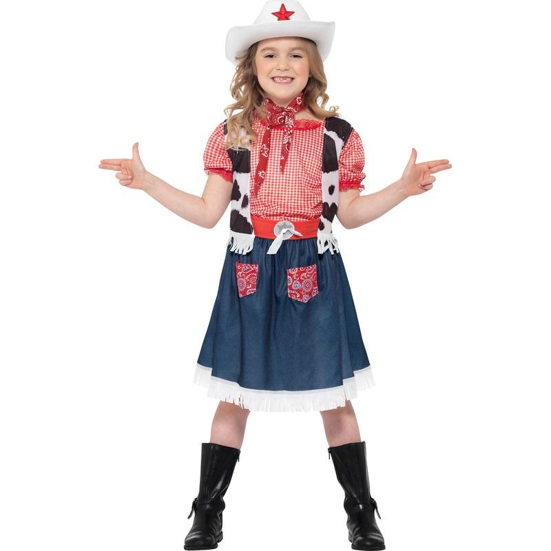 Verkleedkleding Cowgirl kinder kostuum