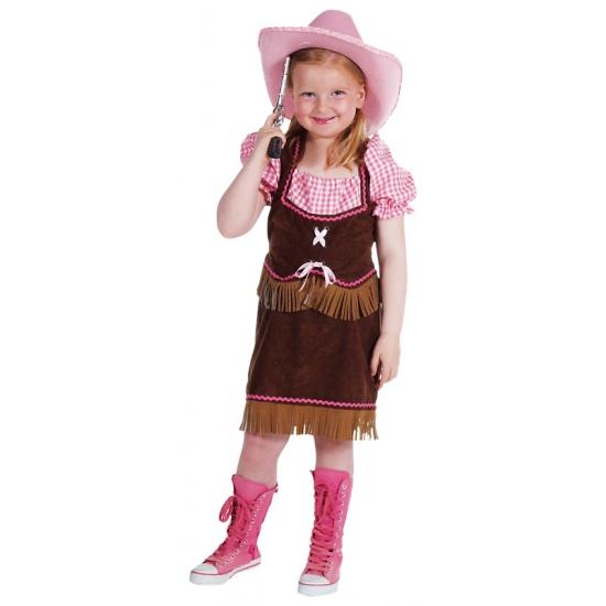 Verkleedkleding Cowgirl kostuum meisjes