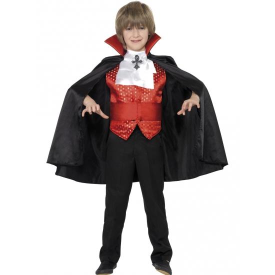 Verkleedkleding Dracula kinder kostuum