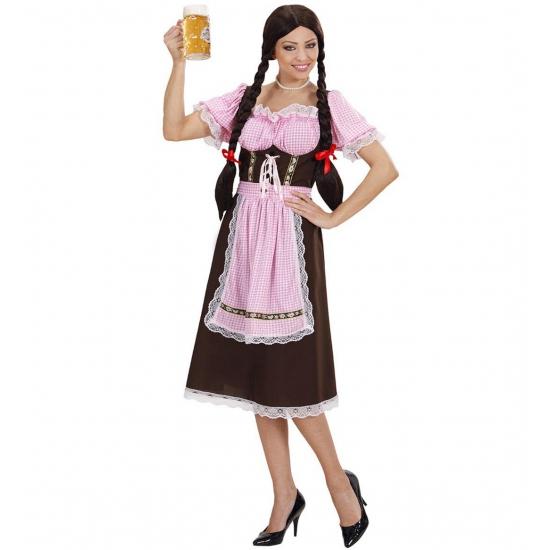 Verkleedkleding Duitse Heidi jurk