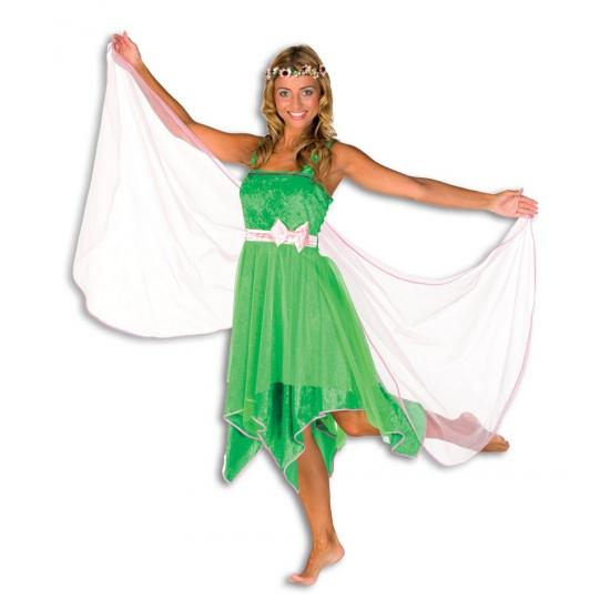 Verkleedkleding Elfen jurk voor dames