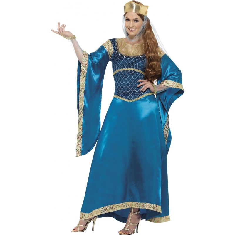 Verkleedkleding Engelse prinses kostuum