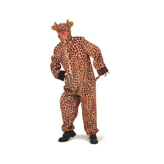 Verkleedkleding giraffe kostuum voor volwassenen