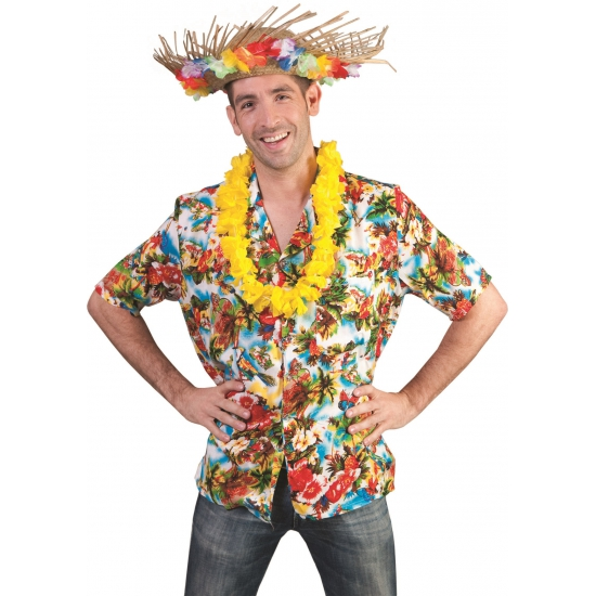 Verkleedkleding Hawaii blouse Kauai