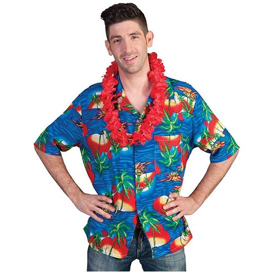Verkleedkleding Hawaii blouse Maui