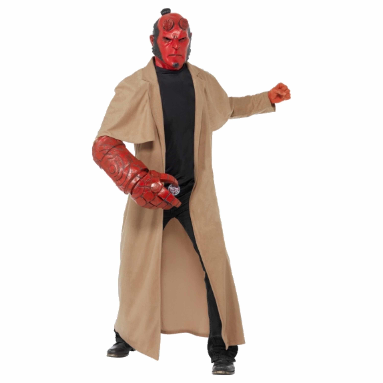 Verkleedkleding Hellboy kostuum inclusief masker