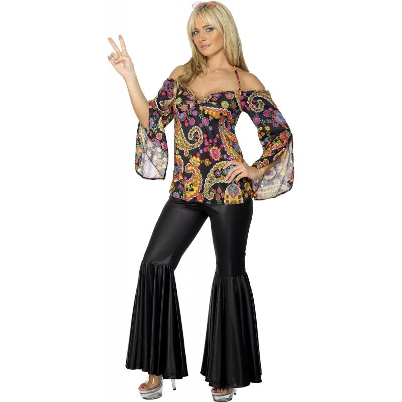 Verkleedkleding Hippie dames kleding