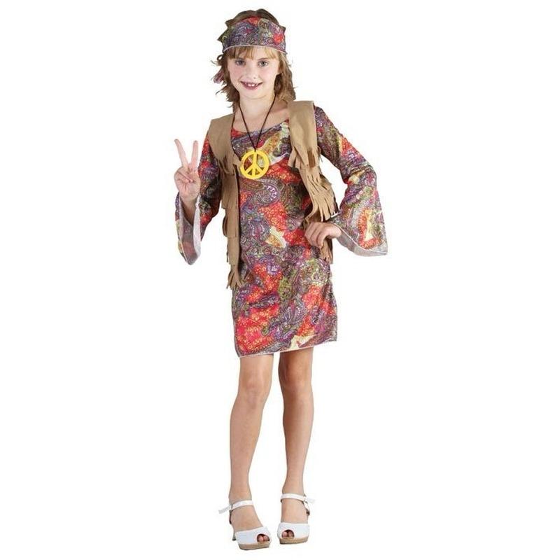 Verkleedkleding Hippie kostuum voor meisjes