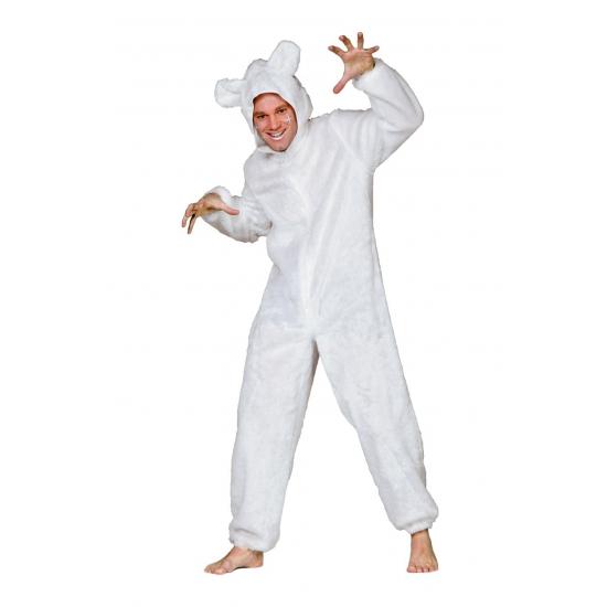 Verkleedkleding Ijsberen pak voor volwassenen