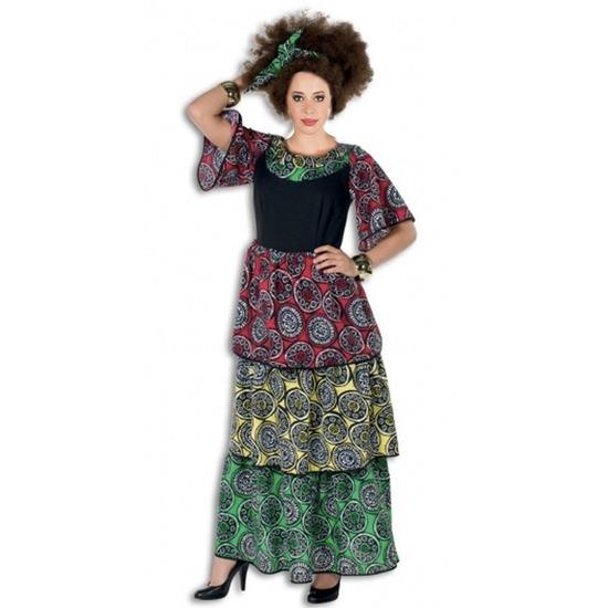 Verkleedkleding Jamaicaanse jurk