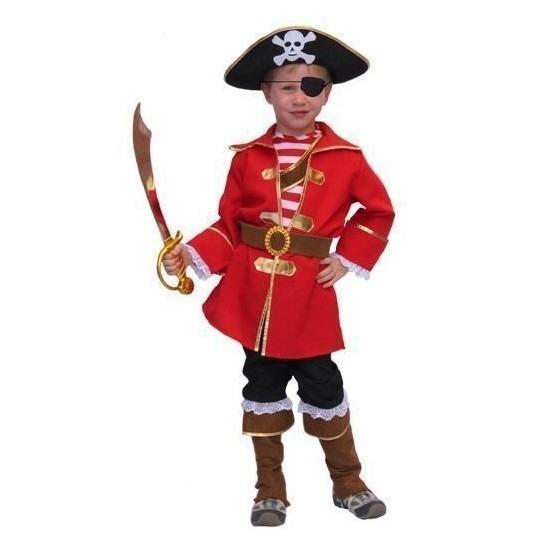 Verkleedkleding Kapitein piraten pak voor kinderen