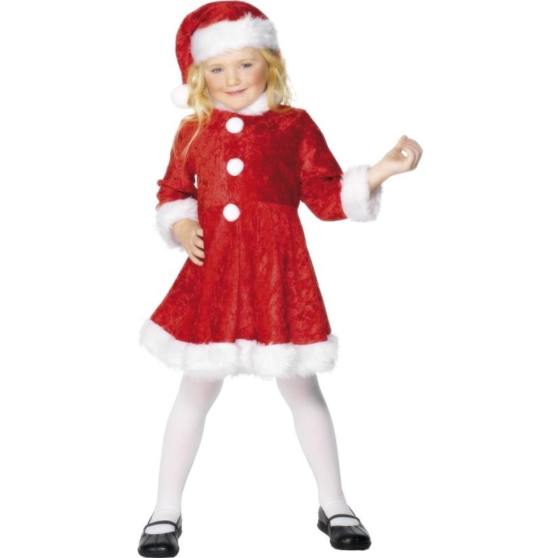 Verkleedkleding Kerst jurk meisjes