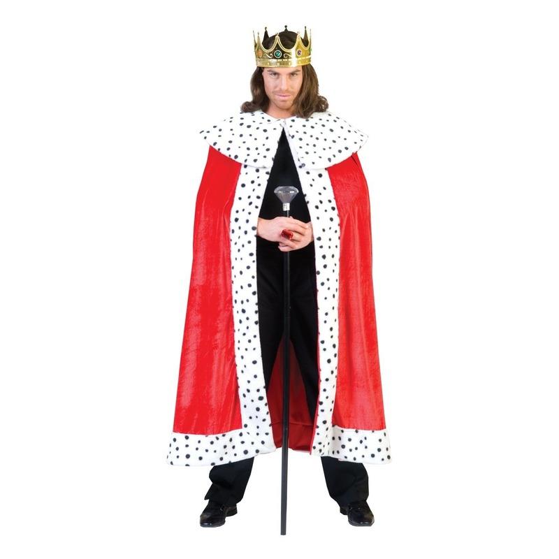 Verkleedkleding Koning kostuum voor volwassenen