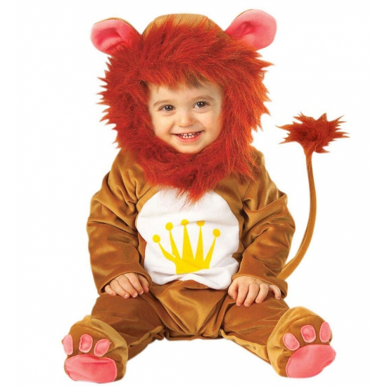 Verkleedkleding Leeuwen baby kostuum