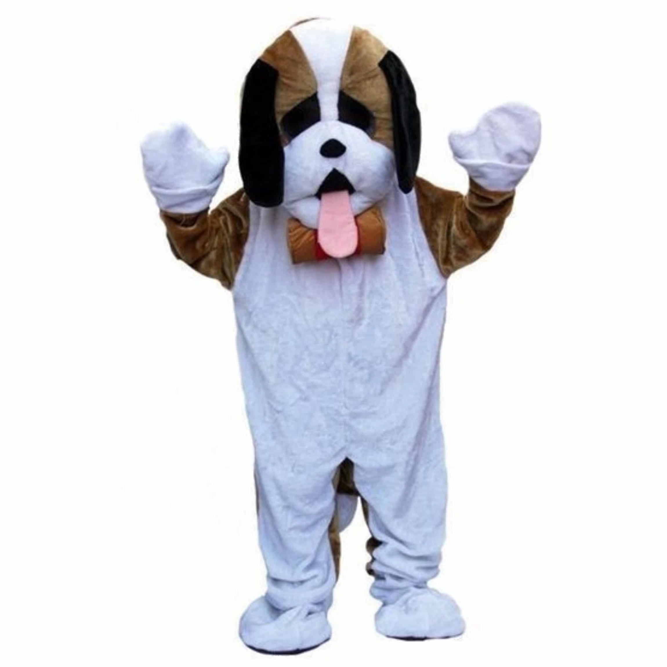 Verkleedkleding Luxe pluche hond kostuum