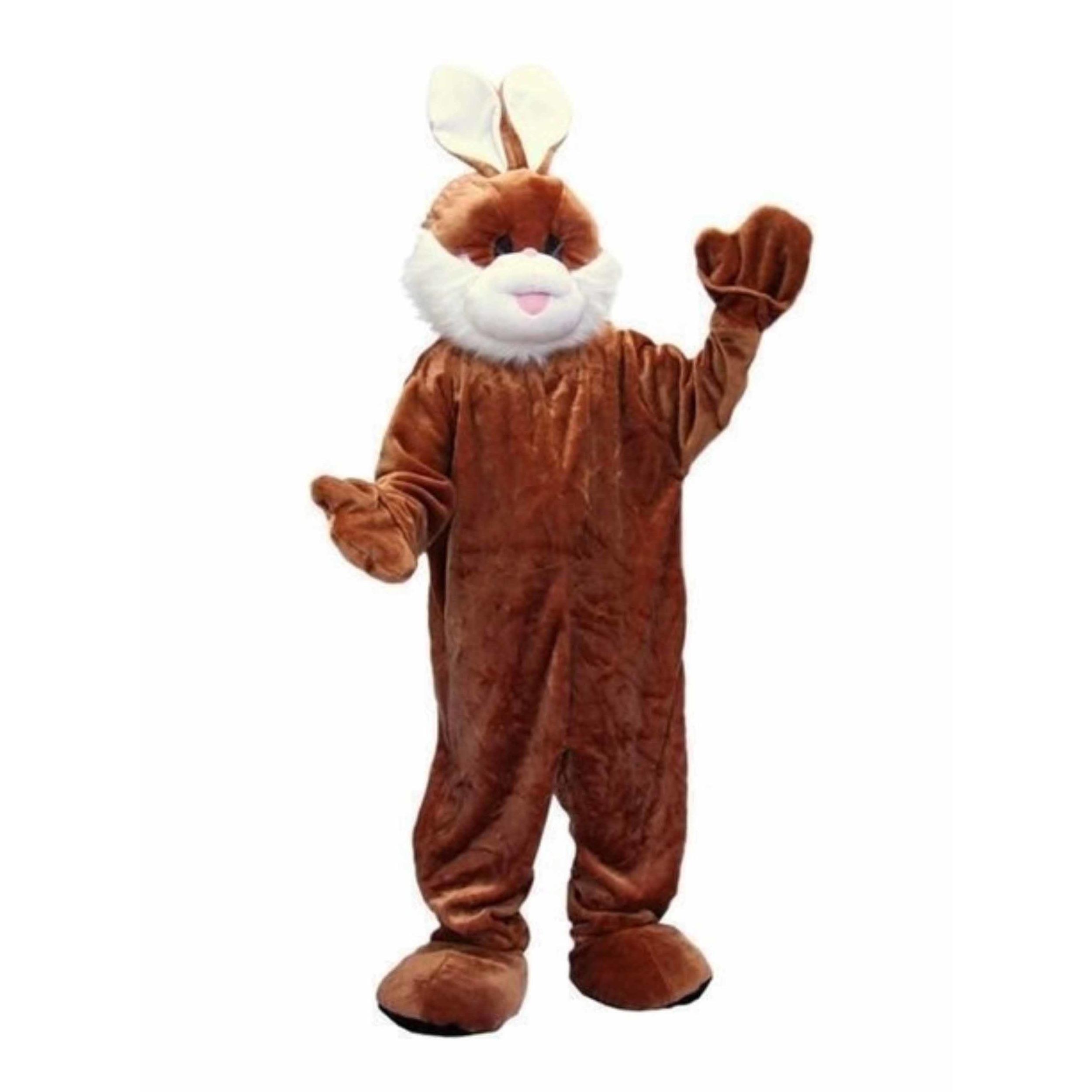 Verkleedkleding Luxe pluche konijn kostuum