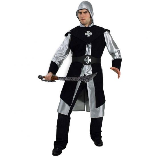 Verkleedkleding luxe ridder kostuum voor heren
