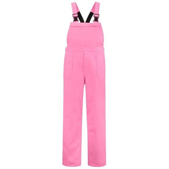 Verkleedkleding Luxe roze tuinbroek voor kinderen