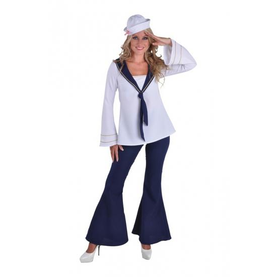 Verkleedkleding Matroos kostuum voor dames