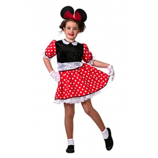 Verkleedkleding Muizen meisjes jurkje