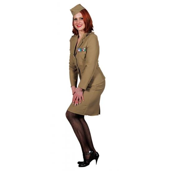 Verkleedkleding Officiers pakje dames