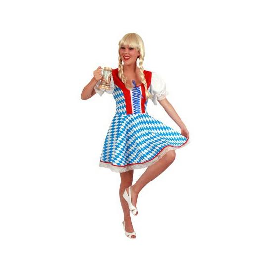 Verkleedkleding Oktoberfest jurk met Bavaria print