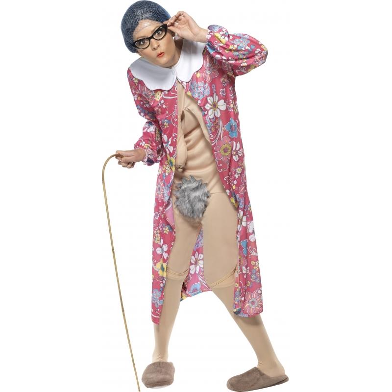 Verkleedkleding Oma kostuum