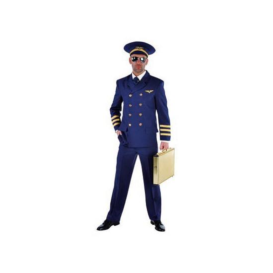 Verkleedkleding Piloten kostuum voor heren