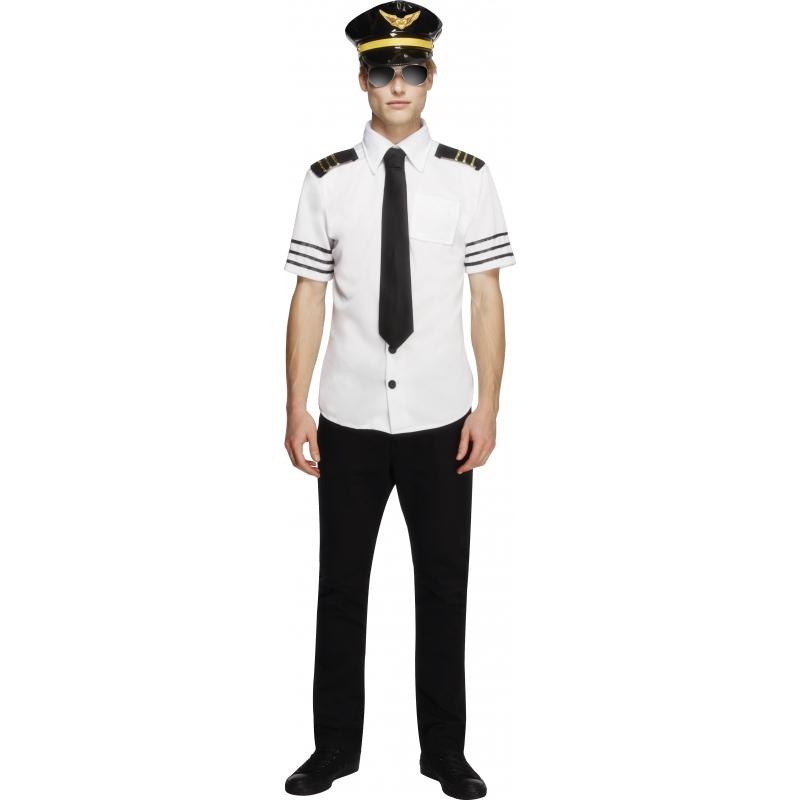Verkleedkleding Piloten outfit heren