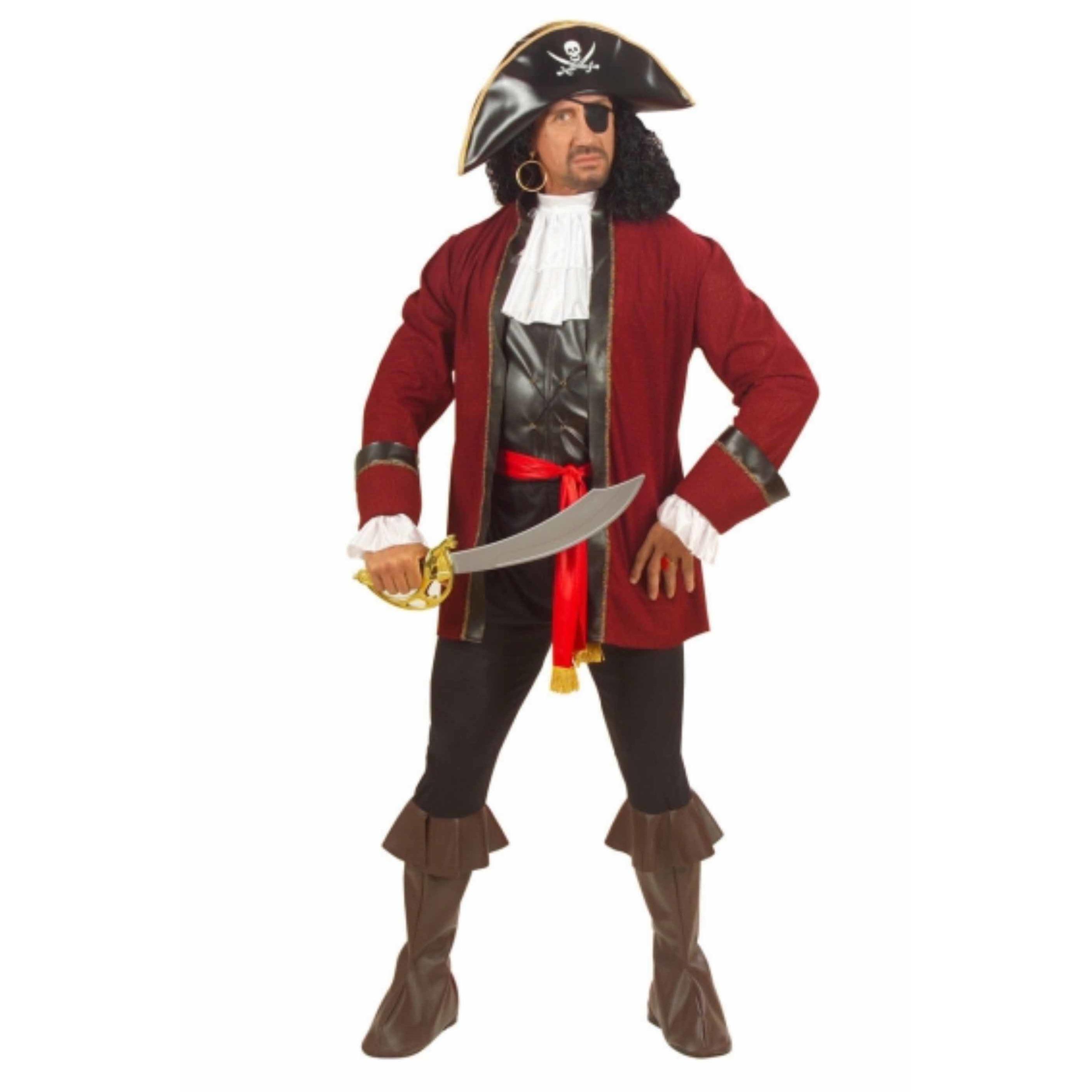 Verkleedkleding Piraten rovers kostuum voor heren