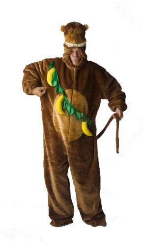 Verkleedkleding Pluche apenpak voor volwassenen