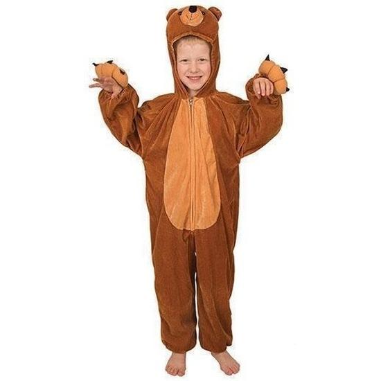 Verkleedkleding Pluche beer kostuum voor kinderen