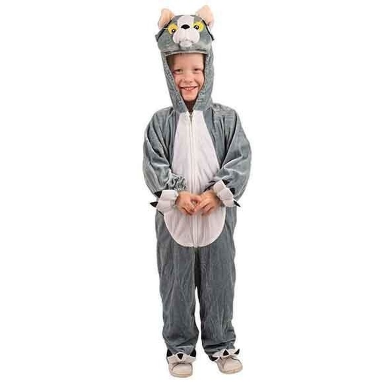 Verkleedkleding Pluche kat kostuum kinderen