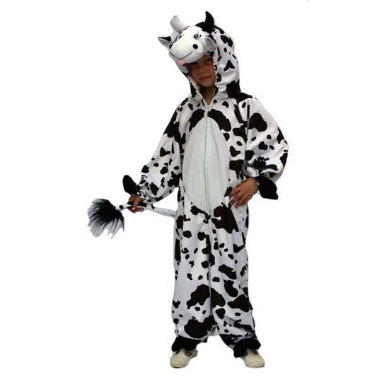 Verkleedkleding Pluche koe kostuum voor kinderen