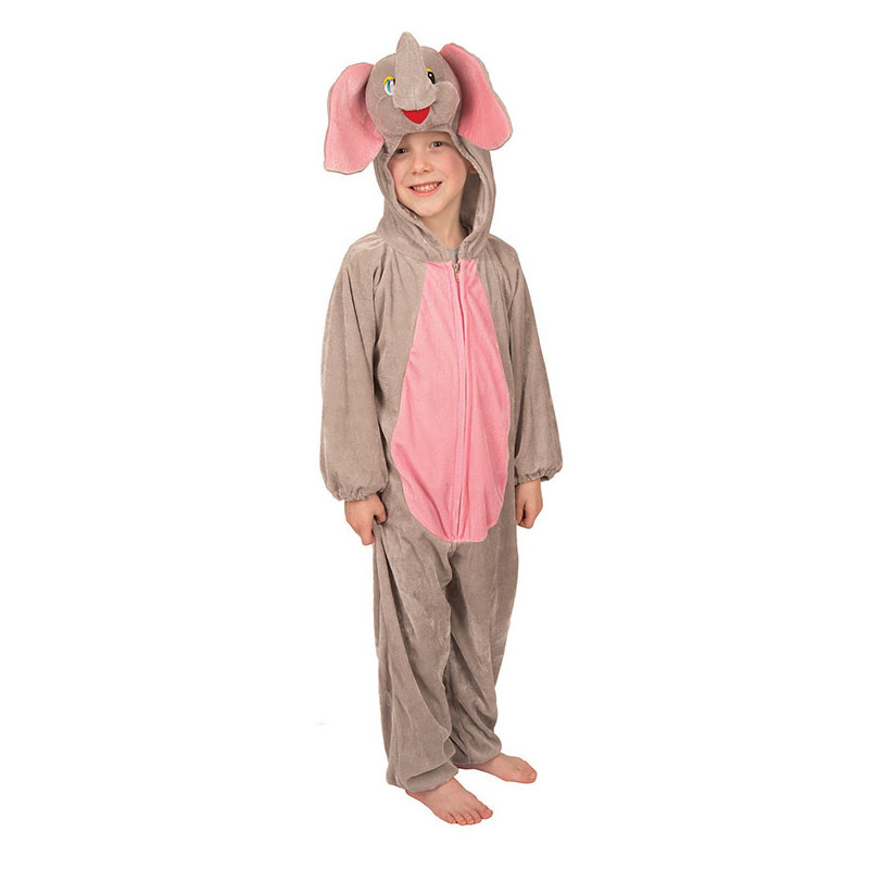 Verkleedkleding Pluche olifanten kostuum kinderen