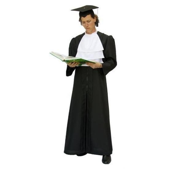 Verkleedkleding Rechter toga voor volwassenen