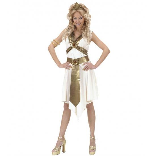 Verkleedkleding Romeinse godin kostuum voor dames