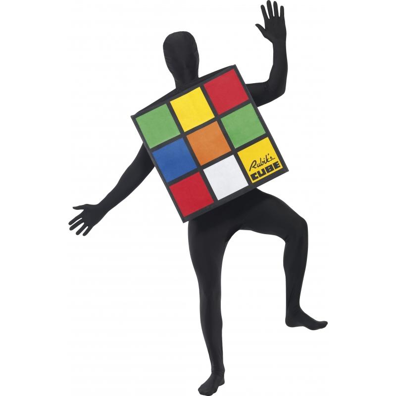 Verkleedkleding Rubiks kubus kostuum