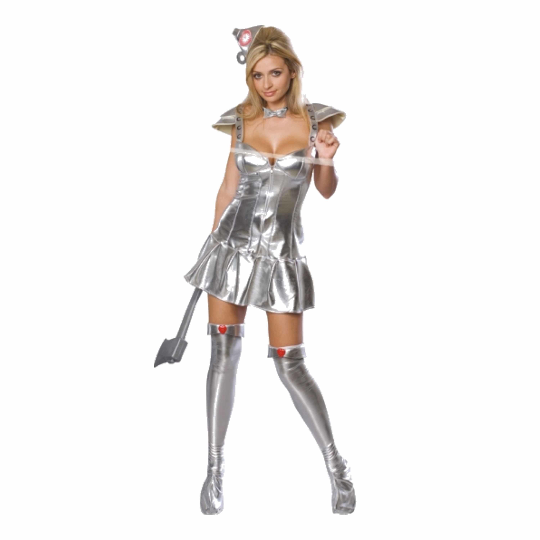 Verkleedkleding Sexy blikken vrouw kostuum zilver