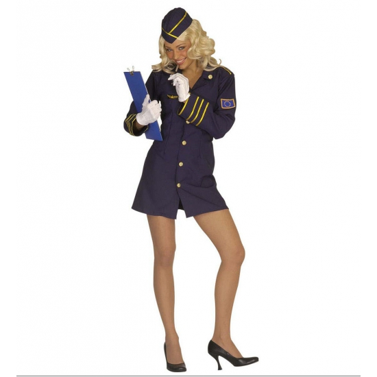 Verkleedkleding Sexy Stewardess kostuum
