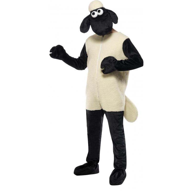 Verkleedkleding Shaun Schapen kostuum volwassenen