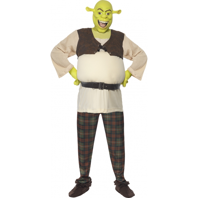 Verkleedkleding Shrek kostuum