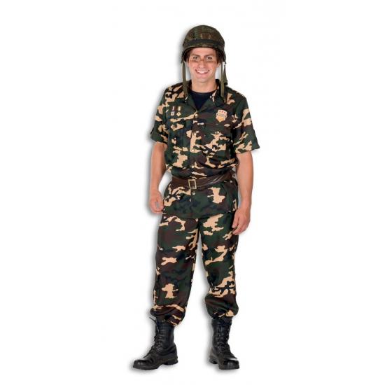 Verkleedkleding Soldaat kostuum voor heren