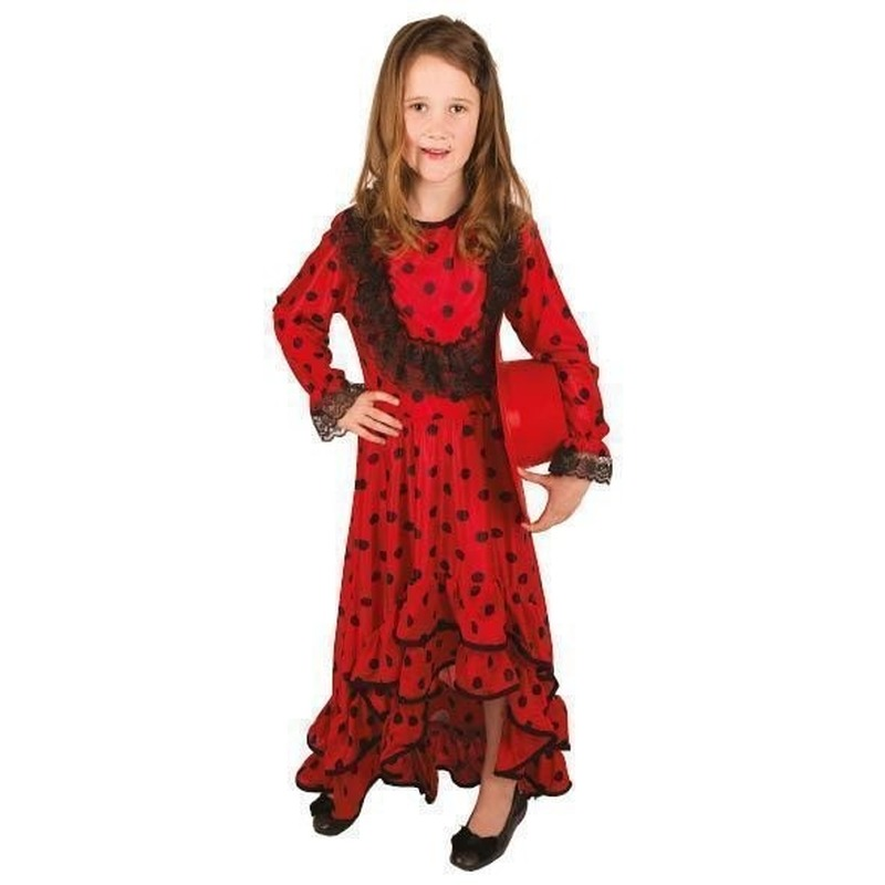 Merkloos Verkleedkleding Spaanse jurk voor kinderen
