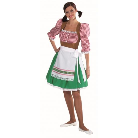 Verkleedkleding Tiroler jurkje voor dames