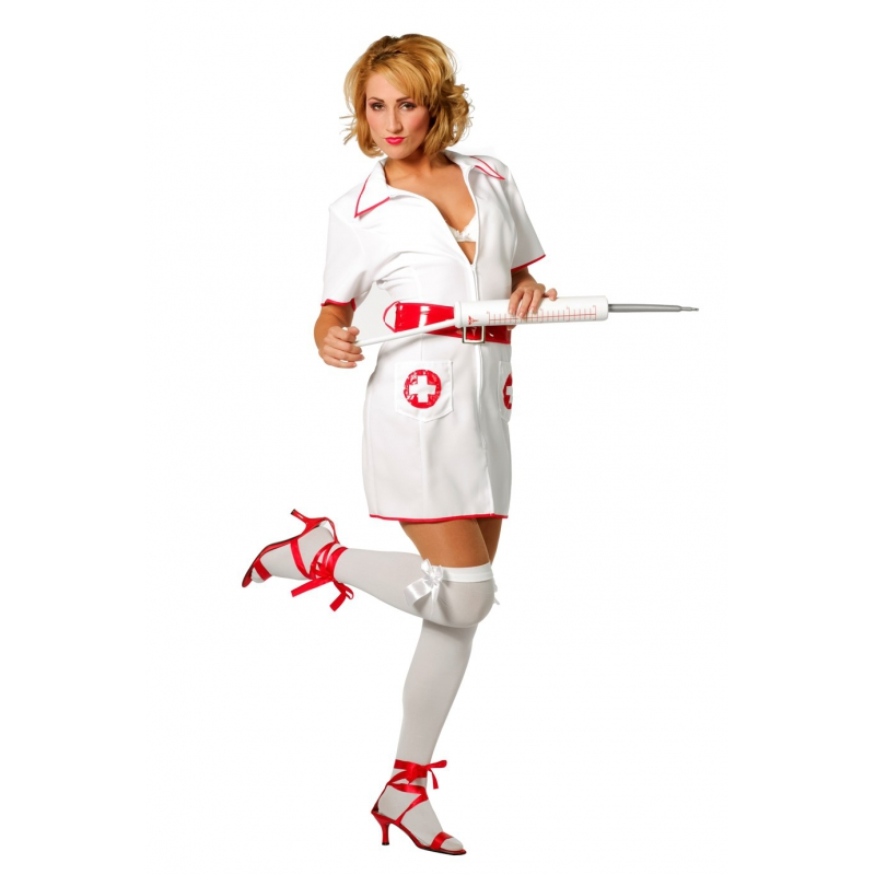 Verkleedkleding Verpleegster kostuum