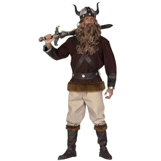 Verkleedkleding Viking kostuum voor heren